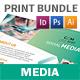 Social Media Print Bundle - GraphicRiver Item for Sale