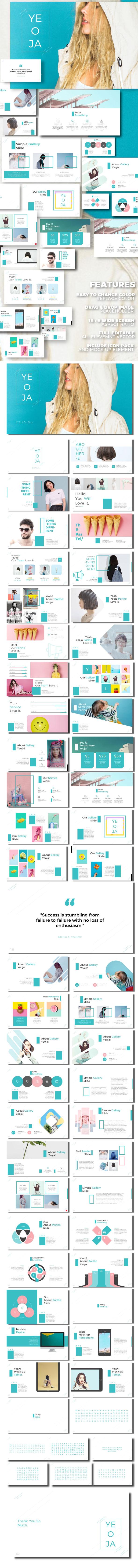 Yeoja - Google Slide Presentation Template - Google Slides Presentation Templates