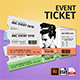 Event Ticket Template Volume 01 - GraphicRiver Item for Sale