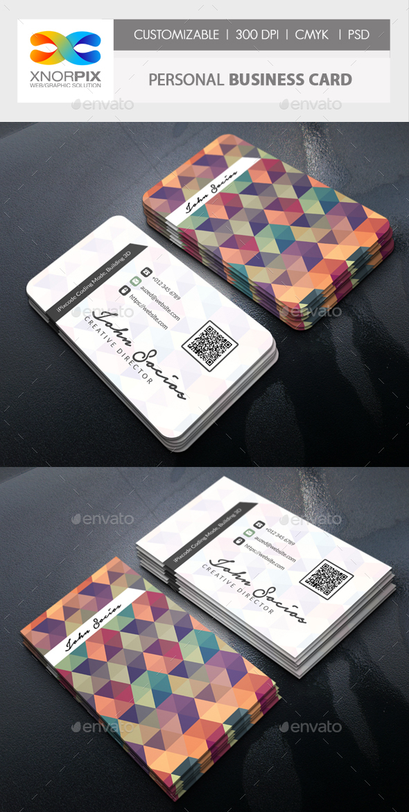 GraphicRiver Personal Business Card 20610338