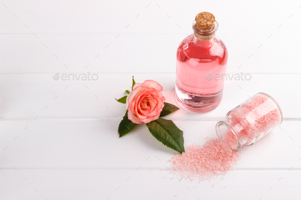 Spa setting and health care items - Stock Photo - Images