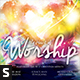 The Heart of Worship CD Album Artwork - GraphicRiver Item for Sale