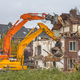 Download Two Demolition cranes at work from PhotoDune
