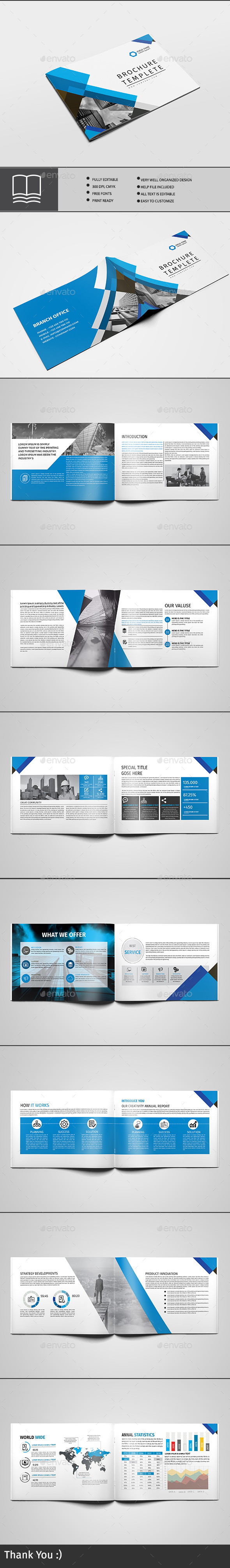 GraphicRiver Brochure 16 Page 20610849