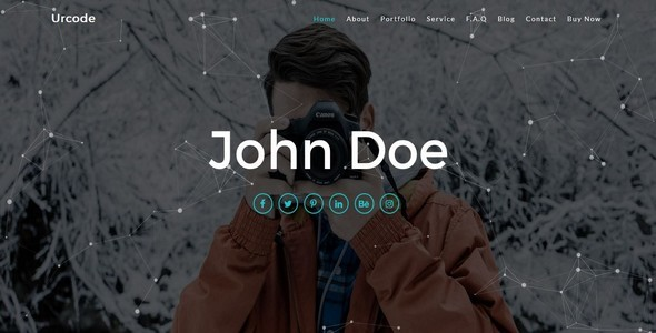 Urcode-Personal / Portfolio Template (Responsive) - Personal Site Templates