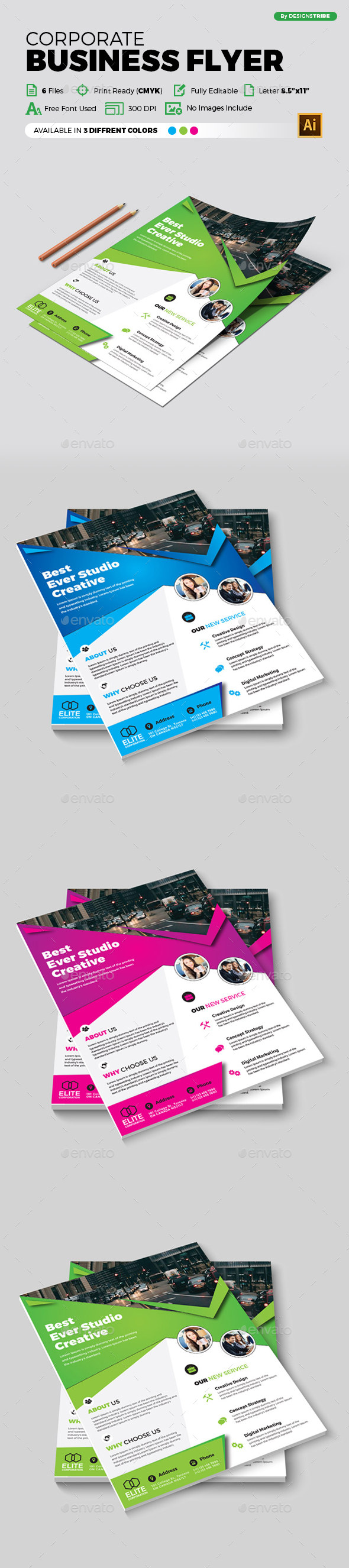 Flyer – Multipurpose 339 - Corporate Flyers