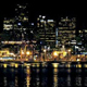 Dramatic City Waterfront At Night - VideoHive Item for Sale