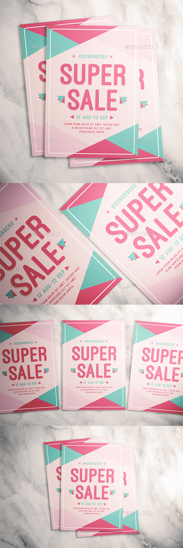 Super Sale Flyer - Events Flyers