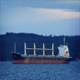 Tanker In The Bay At Sunset - VideoHive Item for Sale