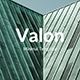 Valon Minimal Powerpoint Template
