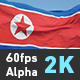 Flag North Korea - VideoHive Item for Sale