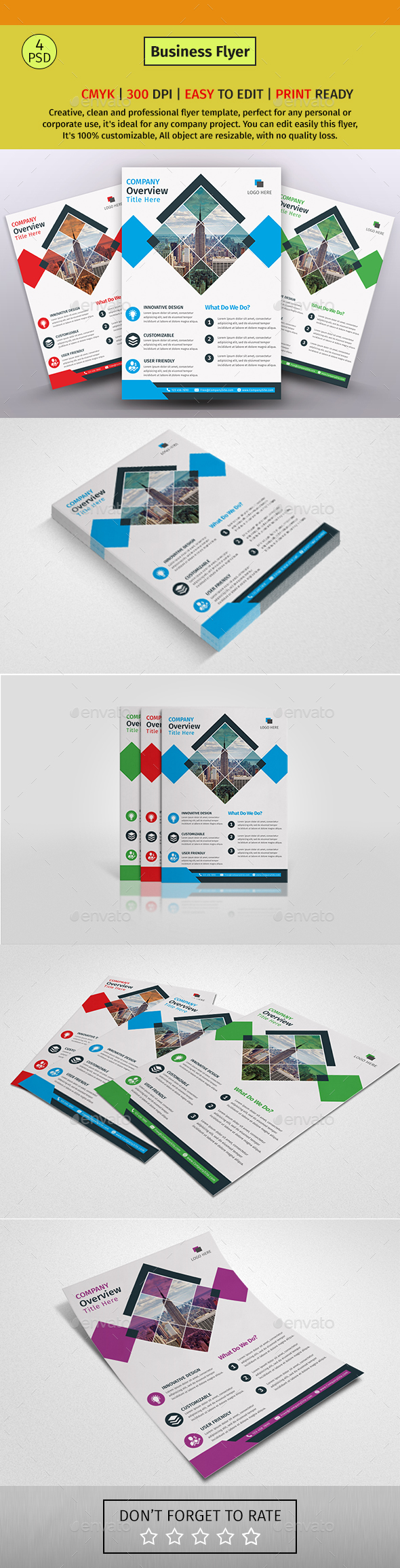 GraphicRiver A4 Corporate Business Flyer #41 20612537