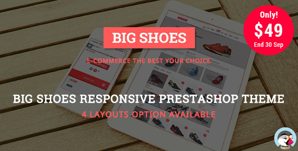 Bigshoes - Shoes Store Responsive Prestashop Theme