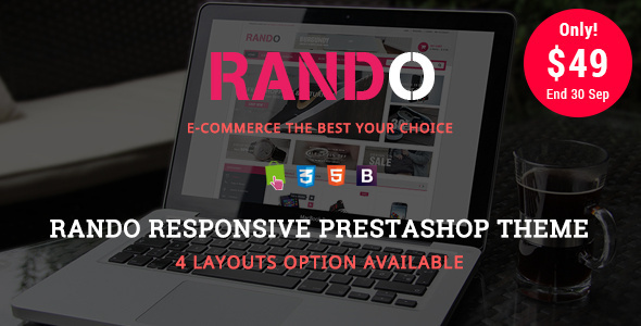 Rando - Shopping & Accessories Responsive Prestashop Theme - Fashion PrestaShop