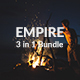 Empire Bundle - 3 in 1 Powerpoint Template