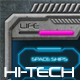 Concrete Hi-Tech Game UI - GraphicRiver Item for Sale