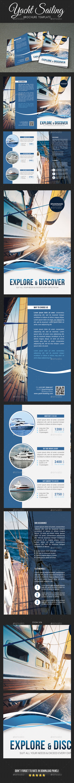 Yachting Brochure - Brochures Print Templates