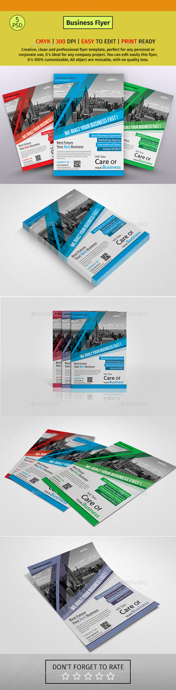 GraphicRiver A4 Corporate Business Flyer #42 20613351