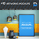 +10 Artworks Mock-ups - GraphicRiver Item for Sale
