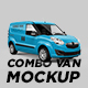 Combo Panel Van Mockup - GraphicRiver Item for Sale