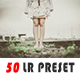 50 Professional Lightroom Presets