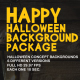 Halloween Backgrounds Package - VideoHive Item for Sale