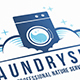 Clean Laundry Logo Design - GraphicRiver Item for Sale