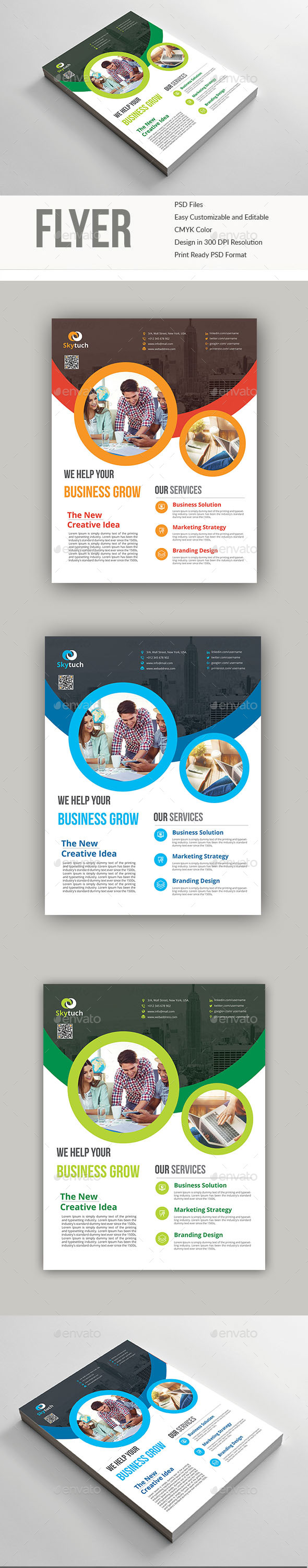 GraphicRiver Corporate Flyer 20566398