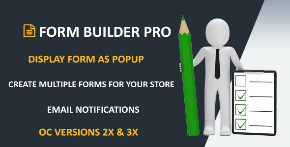 Form Builder Pro - CodeCanyon Item for Sale