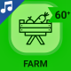 Farm Barn Agriculture Animation - Line Icons and Elements - VideoHive Item for Sale