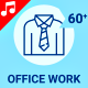 Office Work Animation - Line Icons and Elements