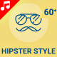 Hipster Style Trendy Animation - Line Icons and Elements - VideoHive Item for Sale