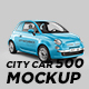 City Car 500 Mockup - GraphicRiver Item for Sale