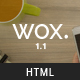 Wox - One Page Parallax - ThemeForest Item for Sale