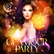 Glamour Party Flyer Template - GraphicRiver Item for Sale