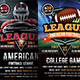 American Football Flyers Bundle