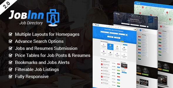 JobInn - Job Board & Directory HTML Template - Business Corporate