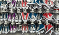 Many pair of sneakers in a store. - PhotoDune Item for Sale