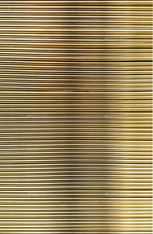 Metal corrugated sheet, texture, - Stock Photo - Images