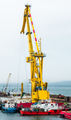 Floating cranes on the construction - PhotoDune Item for Sale