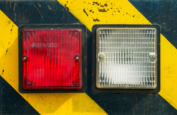 light hazard symbol - Stock Photo - Images