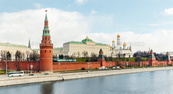 Moscow Kremlin - Stock Photo - Images