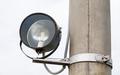 Old spotlight on pole - PhotoDune Item for Sale