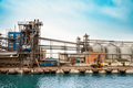 Oil and gas processing plant. - PhotoDune Item for Sale