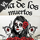 Dia De Los Muertos Poster / Flyer V01 - GraphicRiver Item for Sale