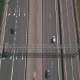 Aerial View of Highway in Russia