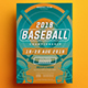 Baseball Championship Flyer - GraphicRiver Item for Sale