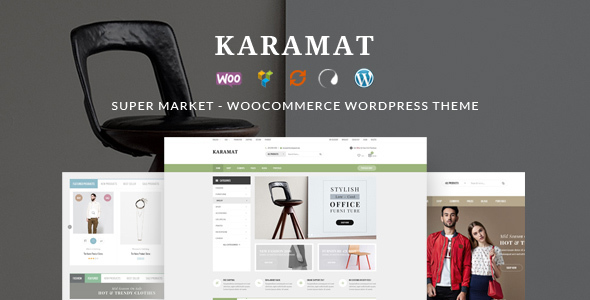 KaraMat - Supermarket WooCommerce WordPress Theme