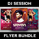 DJ Session Flyer Bundle - GraphicRiver Item for Sale