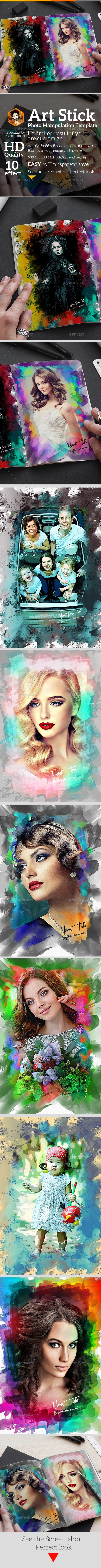 Artistic Photo Manipulation Template - Artistic Photo Templates